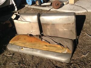 1966 67 Plymouth Belvedere Dodge Coronet B Body Split Bench Front And Rear Seat