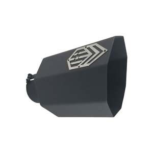 Offroad Arsenal 5 Inlet 8 Outlet 18 Octagon Exhaust Tip Matte Black Diesel T