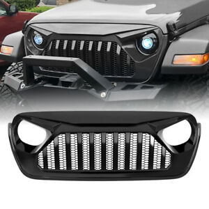 Front Grille Guard Gladiator Vader Grill Replacemet For 18 19 Jeep Wrangler Jl