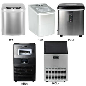 Portabel Countertop Ice Maker Build in Commercial Ice Machine Ice Cube Machine