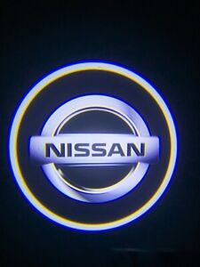 Wireless Led Courtesy Car Logo Door Ghost Shadow Projector Light Fit All Nissan