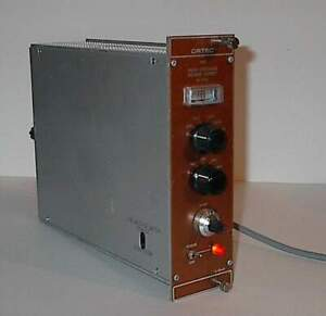 Ortec 456 Bias 0 3kv High Voltage Power Supply Nim Bin Module Used