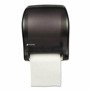 San Jamar Tear n dry Essence Electronic Towel Dispenser Black san T8000tbk
