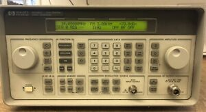 Agilent Hp 8648c Synthesized Microwave Rf Signal Generator 9khz To 3 2ghz