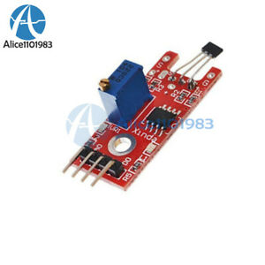 2pcs Hall Magnetic Standard Linear Module For Arduino Avr Pic Module