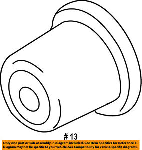 Ford Oem Carrier Front Axles mount Bushing F67z3a443aa