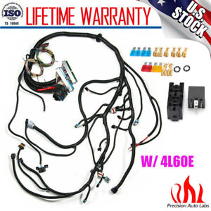 New Standalone Wiring Harness W 4l60e For 97 06 Dbc Ls1 Engines 4 8 5 3 6 0