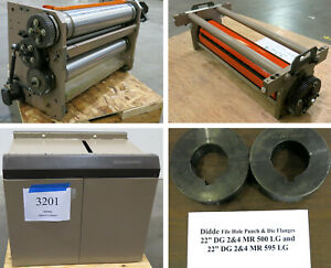Didde Web Press Units Accs Perf Print Punch Die Spacer More Inv 3632