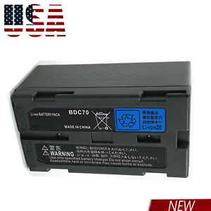 For Adirpro Bdc70 Liion Battery For Topcon Sokkia Total Stations Robotic Station