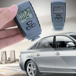 Lcd Digital Auto Car Paint Coating Thickness Tester Measuring Gauge Meter Fr