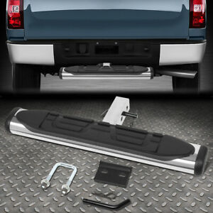 For 2 Receiver Rear Bumper Trailer Towing Hitch Step Bar Guard 26 wide X 4 oval