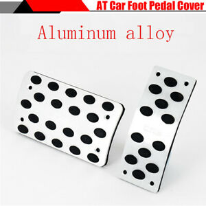 1 Set Automatic Gear Car Pedals Wide Surface Gas Brake Foot Pads Cover Non slip