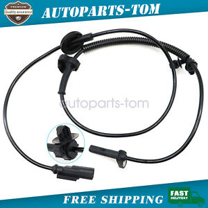 Abs Wheel Speed Sensor Front For Chevrolet Traverse Acadia Enclave 2008 17