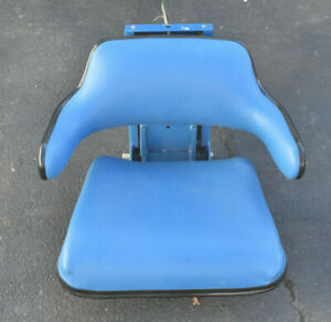 Grammer Tractor Seat Assembly Vinyl Blue Ford New Actual Grammer