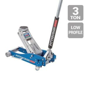 Floor Jack 3 Ton Aluminum Rapid Pump Racing Floor Jack 3 1 2 Low Profile