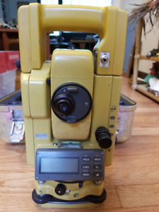 Topcon Electronic Total Station Plus Accessories