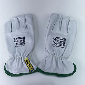 Superior Leather Work Gloves Endura Size Xl A4 Cut 3 Arc Flash Lined Goat