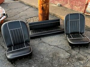 Mgb Gt Front And Rear Seats 1966 1968