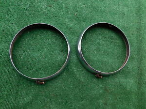 1934 1935 1936 Chevrolet Truck Headlight Bezels 34 35 36 Chevy