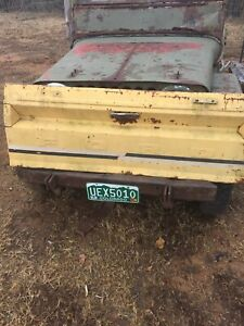 Ford Courier Truck Pickup Tailgate