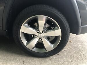 2014 Jeep Grand Cherokee 20 Oem Rims And Tires set Of 4