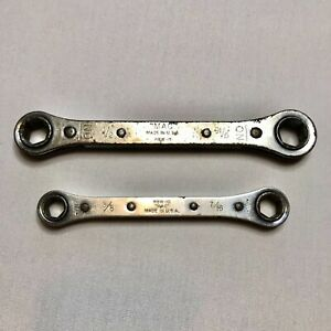 Mac Rbw 15 1 2 9 16 Rbw 10 3 8 7 16 6 Pt Ratcheting Double Box Wrenches Usa