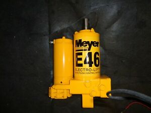 Meyer Snow Plow Pump
