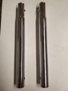 Lot Of 2 Uline H 5033 10 Height Extenders For H 1978 Z rack