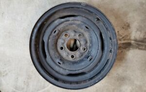 Old Vintage 15 5x5 Buick Stock Steel Wheel Rim 60s 1960s