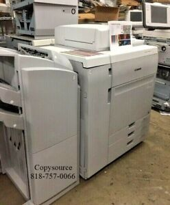 Canon Imagepress C750 Color Copier Finisher And Fiery