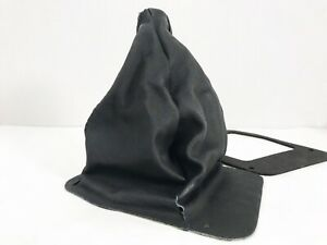 1979 86 Ford Mustang Fox Body Black Leather Shift Boot
