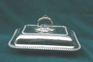 Mappin Webb 1904 English London Sterling Silver Cover Dish Magnificent