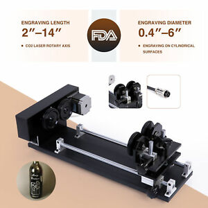 4 wheel Rotary Axis Attachment W Nema 23 Stepper Motor For Cylindrical Surface
