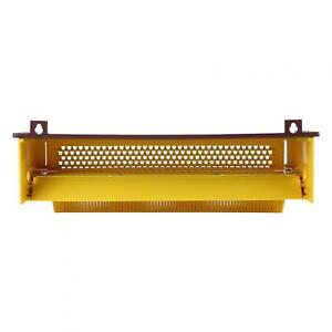 Removable Pollen Trap With Ventilated Pollen Tray Beekeeping Tool Yellow Plastic