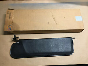 Oem 1967 72 Chevy Truck Black Metal Sun Visor Unit Original Gm Sunshade Nos
