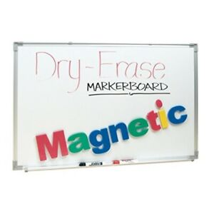 School Smart Magnetic dry erase Board 24 Inch X 36 Inch