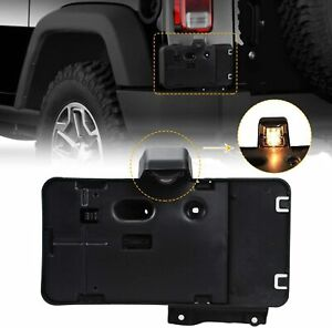 Rear License Plate Holder Frame Mounting Bracket For 2007 2017 Jeep Wrangler Jk