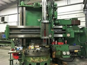 Giddings Lewis 48 4 axis Cnc Vertical Boring Mill 30360