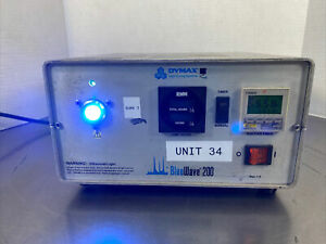 Dymax Bluewave 200 Uv Curing Spot Lamp Ultraviolet Light Rev 1 0 Mbp