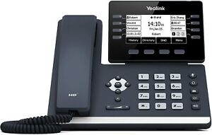 Yealink Sip t53 Ip Phone 12 Voip Accounts 3 7 inch Graphical Display Usb 2 0