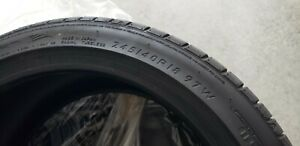 4 Dunlop Sport Maxx Rt 245 40r18 Tires Basically New 165 Miles
