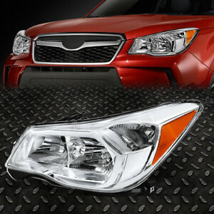 For 14 16 Subaru Forester Lh Left Driver Side Oe Style Headlight Lamp Su2502145