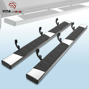 Yitamotor Running Boards For 2019 2021 Dodge Ram 1500 Crew Cab 6 Bar Side Steps