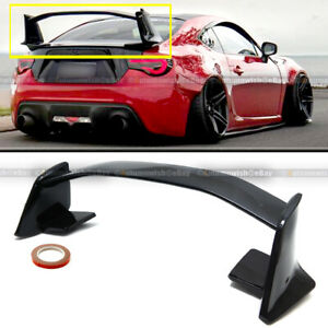 For 13 19 Frs Brz Gt86 Nrs Nur Gts Euro Spec Gloss Black Trunk High Wing Spoiler