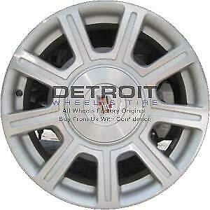 17 Cadillac Dts Wheel Rim Factory Oem 4618 2008 2011 Machined Silver