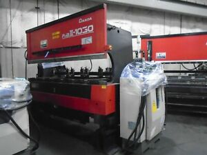 Amada Astro Cnc Press Brake Fbd 10 1030 Ld 100 Tons X 10 Capacity