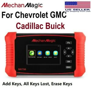 2020 Car Key Fob Remote Programming Tool For Chevrolet Gmc Cadillac Buick Diy