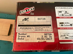 Air Lift 60728 Airlift 1000 Rear Suspension Air Bag Leveling Spring Kit