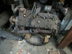 1953 Ford Flathead 239 V8 Engine Core Parts Oem