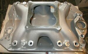 Edelbrock Big Victor 28015 Intake Manifold Bbc Dart Big Chief Efi Chevy Or Nos